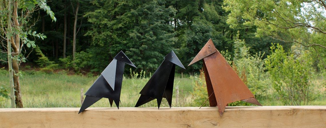 Happy Birds Metalfugle